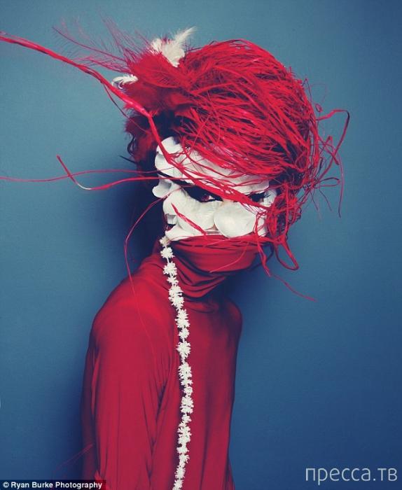 Мифическая серия автопортретов от Райана Бурка (19 фото)