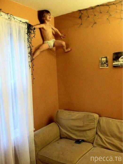Наши дети веселятся по-своему (15 фото)