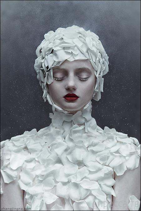 Сюрреалистические портреты женщин от Zhang Jingna (12 фото)