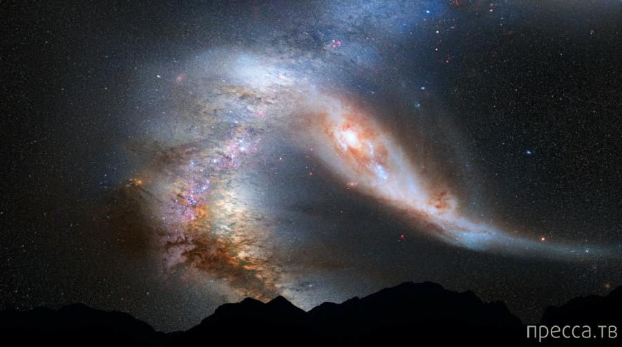 Галактика Андромеда - наша соседка в огромной Вселенной (7 фото)