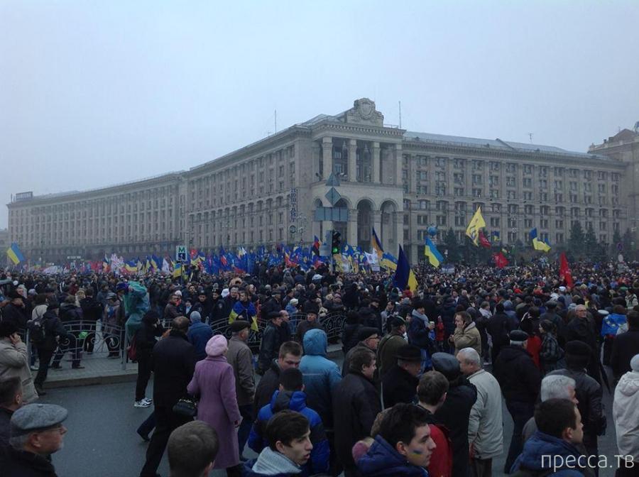 Евромайдан в Киеве (12 фото)
