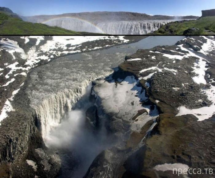Живописные водопады Исландии (37 фото)