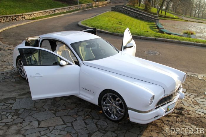 Спортивное купе ГАЗ 20 SL (14 фото)