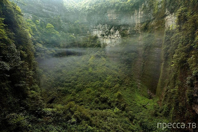 Топ 4: Природные чудеса, обнаруженные этой осенью (8 фото)