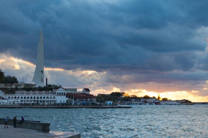 Фотоэпопея по Крыму. Севастополь. Мыс Николаевский (8 фото)
