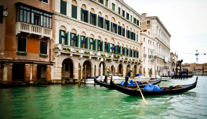 Венеция: По Большому каналу к площади Сан-Марко (16 фото)