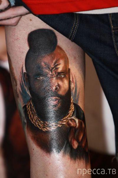 Самые необычные татуировки (30 фото)