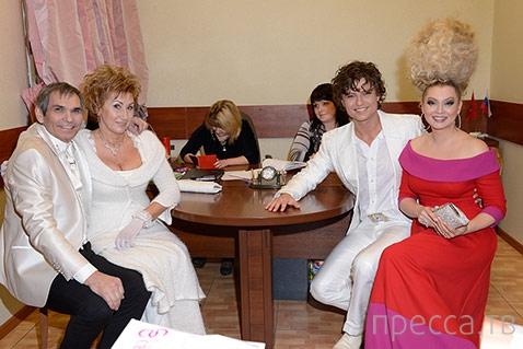 31-летний Прохор Шаляпин женился на 57-летней избраннице (7 фото)
