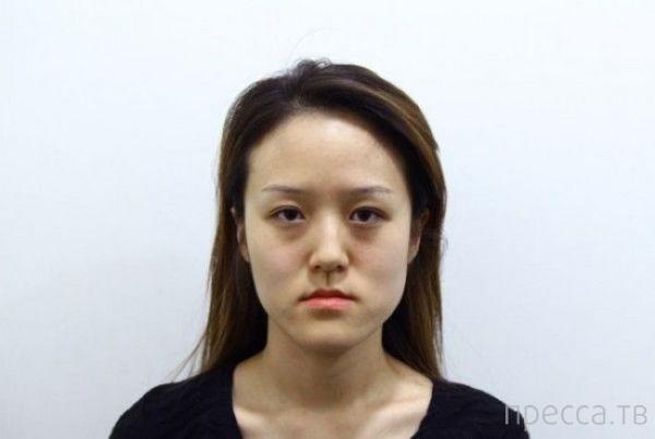 Корейские близняшки до и после пластической операции (10 фото)