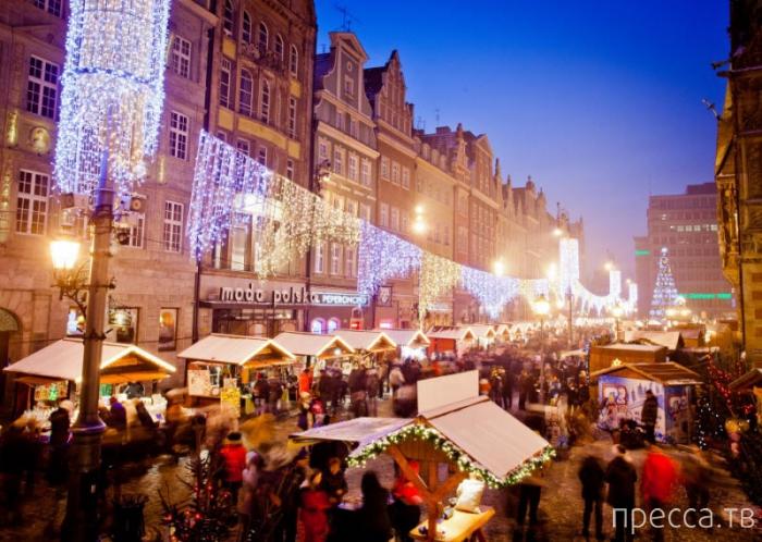 Топ 10: Рождественские ярмарки в Европе (13 фото)