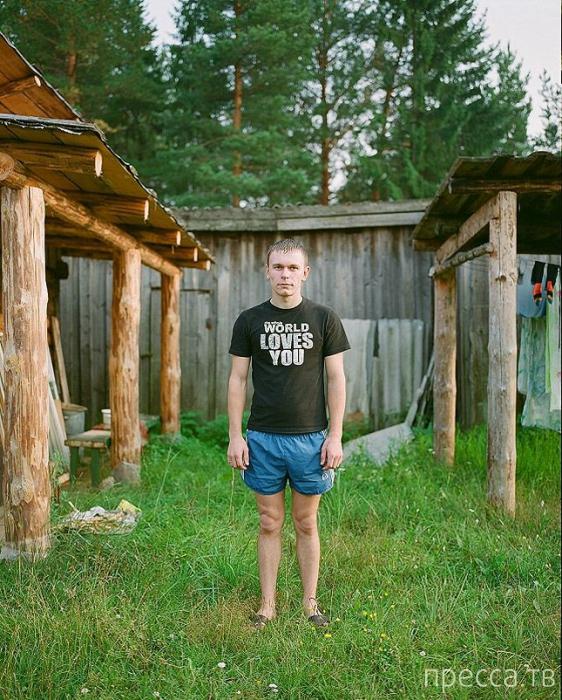 Жители российской глубинки... Вологодская область (30 фото)