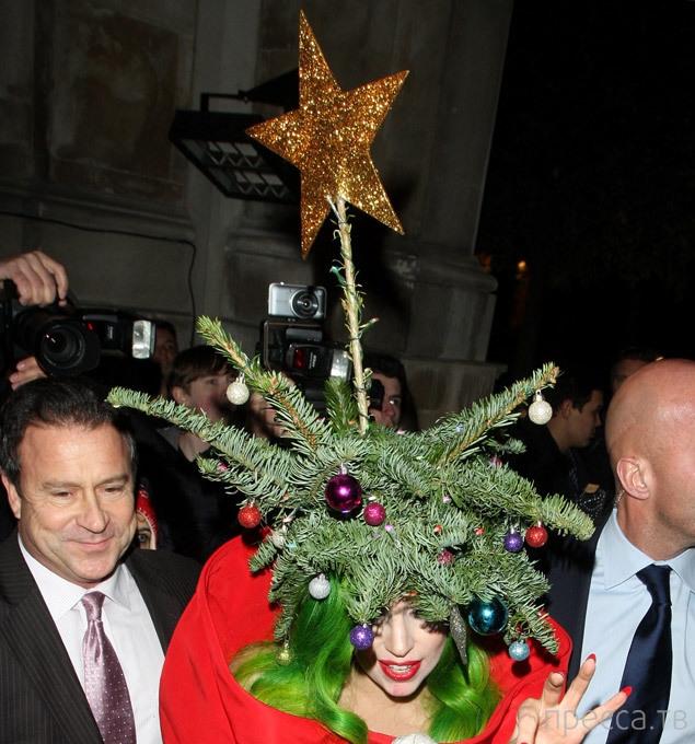 Леди Гага — ёлка (7 фото)