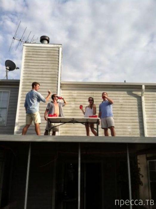 Подборка забавных фотографий с пьяными людьми (50 фото)