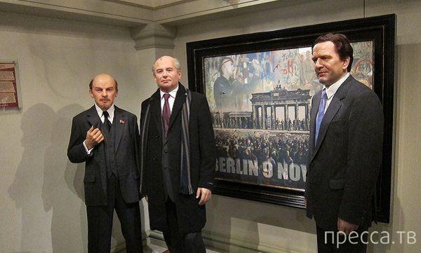 Скульптуры русских в музее Мадам Тюссо (9 фото)