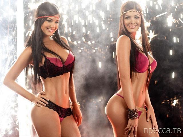 Колумбийские модели - сестры Давалос (16 фото)