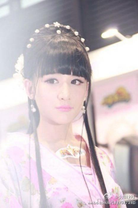 Красавица Сяо Кан (7 фото)