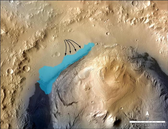 На Марсе обнаружены признаки жизни (фото + видео)