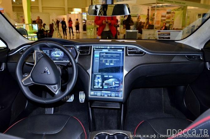 Как устроен электромобиль Tesla (18 фото)
