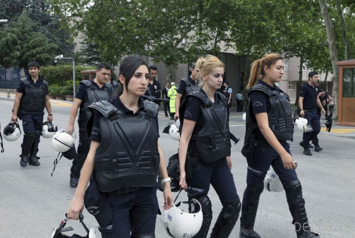 Приколы и забавные ситуации, связанные с полицейскими из разных стран мира (55 фото)