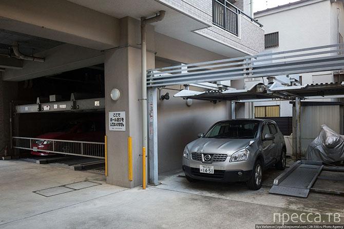 Как живется автомобилистам в Японии (21 фото)