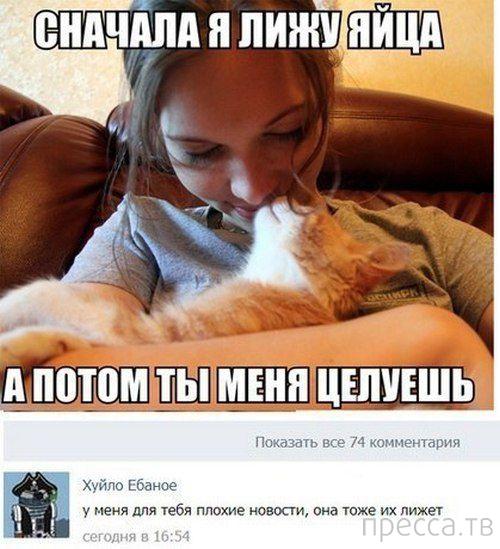 Прикольные комментарии из социальных сетей, часть 42 (26 фото)