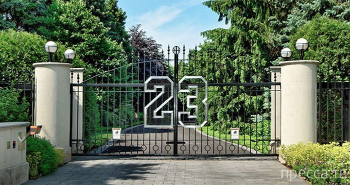 Особняк Майкла Джордана выставлен на продажу за $ 29 млн. (13 фото)