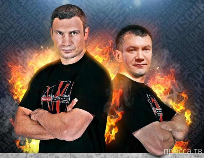 Кличко вызвал на ринг Януковича (фото + видео)