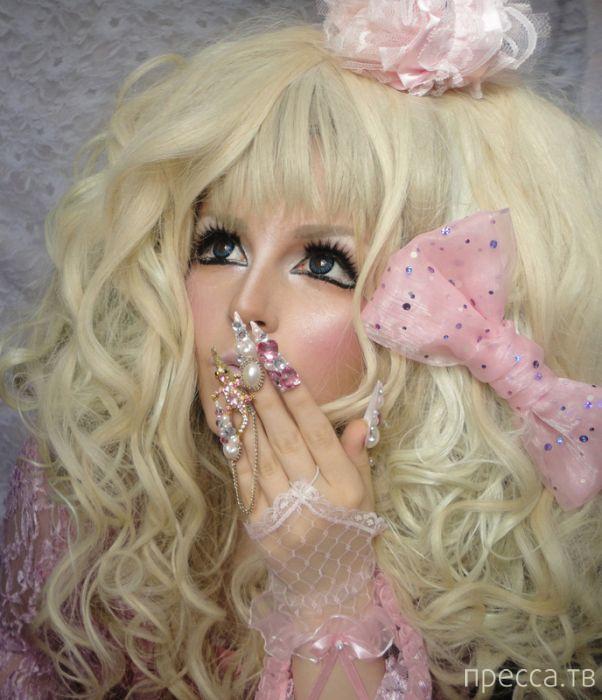 Живая кукла из Японии (30 фото)