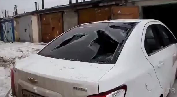 Последствия нападения отморозков из Липецка...