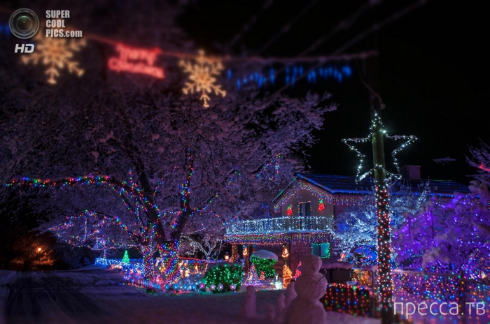 Подборка красивых фотографий на рождественскую тематику (24 фото)