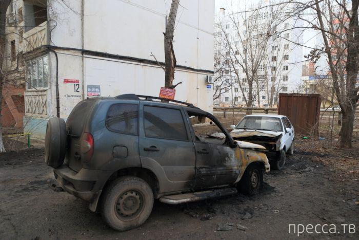 Астраханская месть владельцу автомобиля (17 фото)