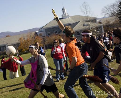 Топ 9: Самые необычные и малоизвестные виды спорта (9 фото)