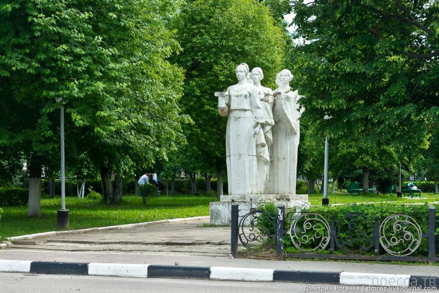 Павловский Посад - круг по городу (32 фото)