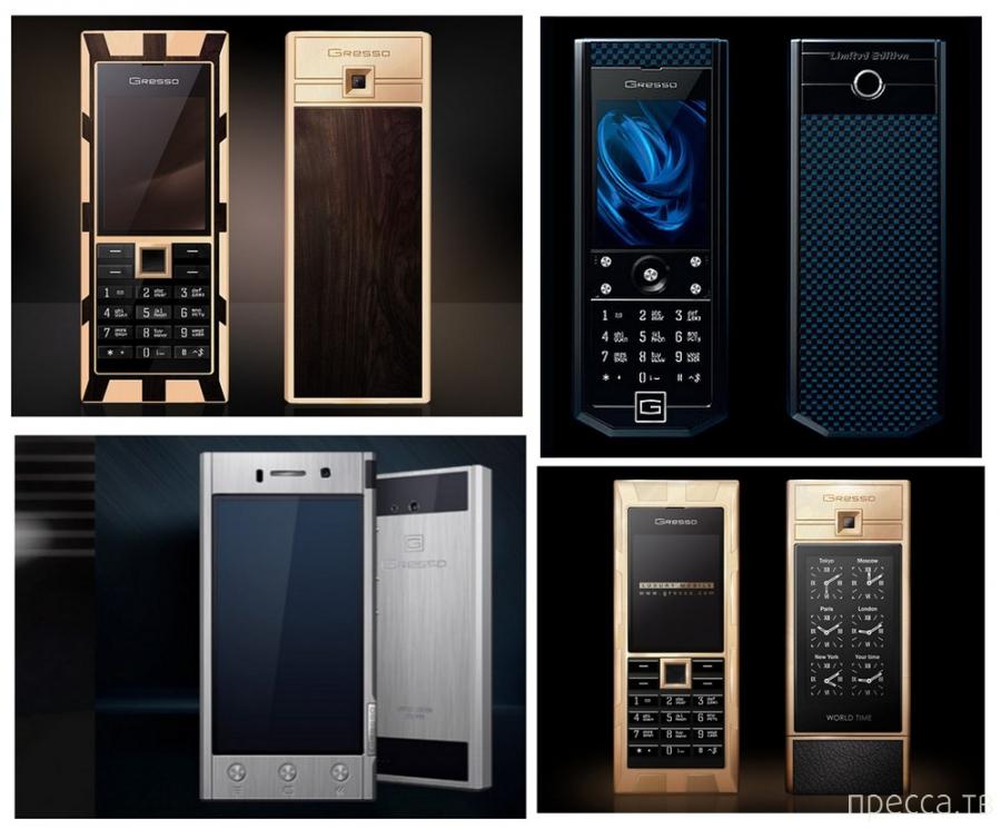 Топ 6: Самые необычные телефоны (10 фото)