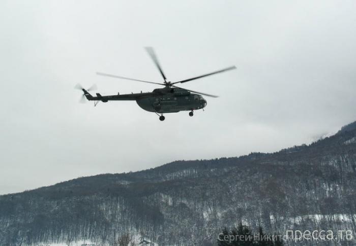 Олимпийские объекты в Сочи с вертолета (23 фото)