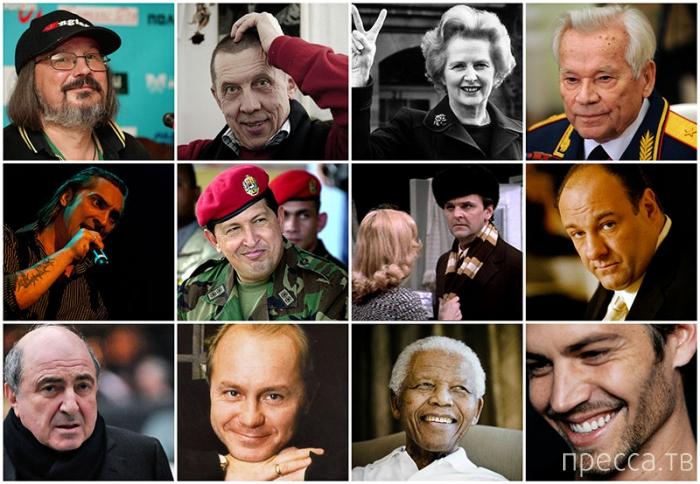 Известные люди, которые ушли из жизни в 2013 году (13 фото)
