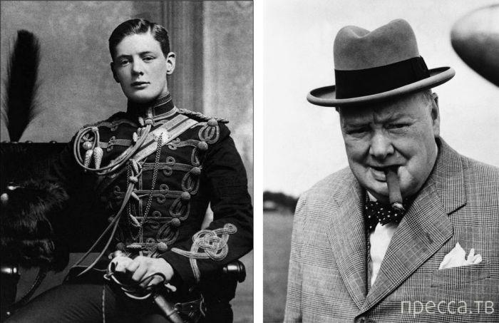 Известные зарубежные политики в молодости и спустя годы (12 фото)