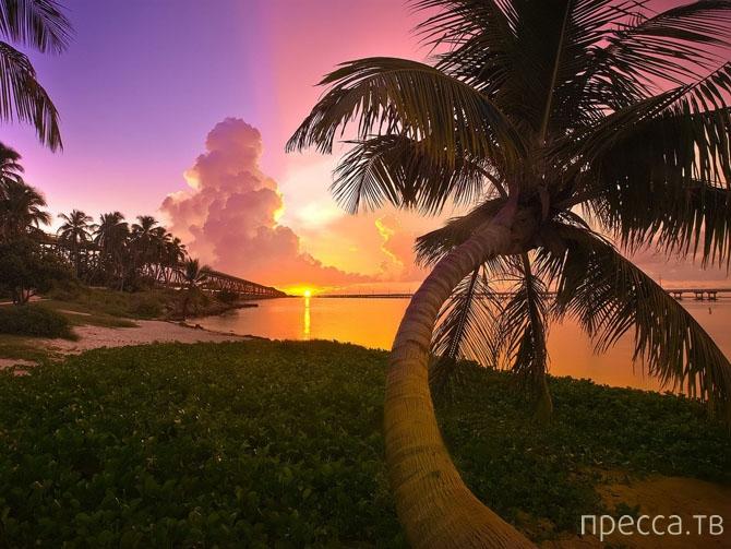 Топ 10: Места с самыми красивыми закатами (10 фото)