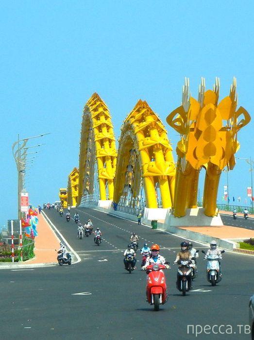 Мост Дракона во Вьетнаме (12 фото)