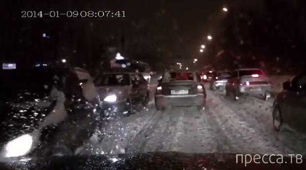 ДТП с участием трех машин... ул. Куйбышева, г. Пермь
