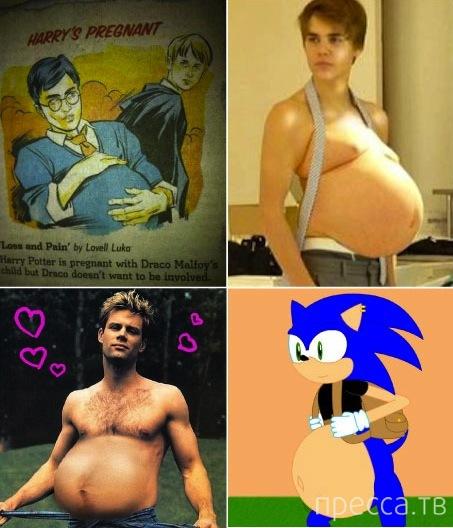 Ябеременен – самый странный мем 2013 года (7 фото)