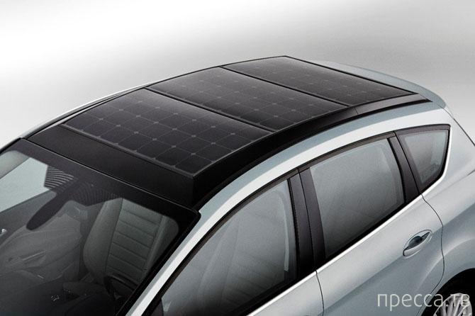 Новый гибрид Ford C-MAX, с солнечными батареями (12 фото)