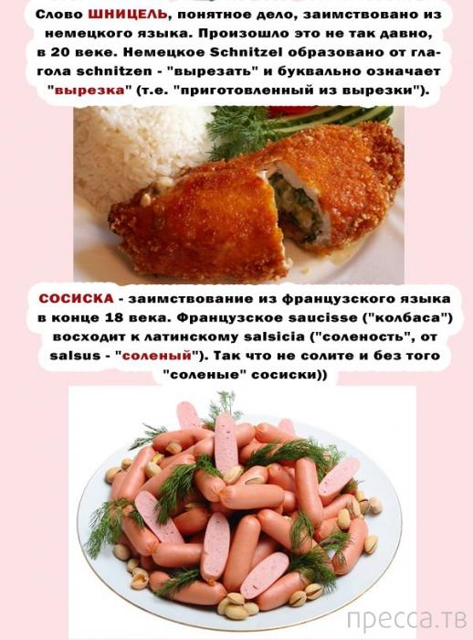 Познавательные факты о мясных блюдах (5 фото)