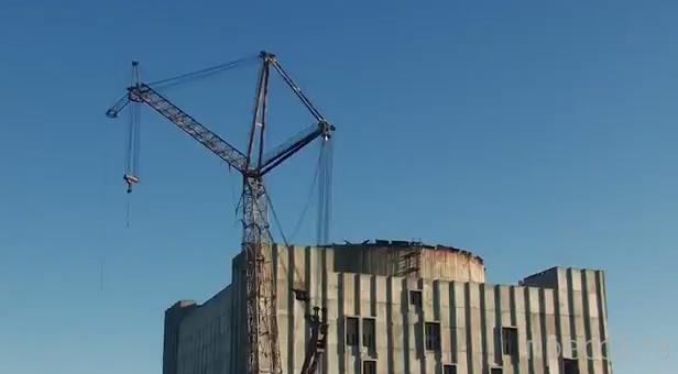 """Экстремальный спорт. """"Крымская АЭС""""... Прыжки с верёвкой"""