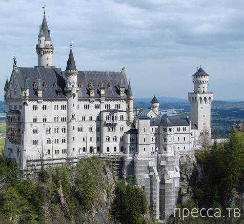 Белоснежные замки Европы (7 фото)