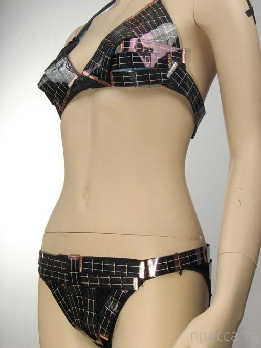 Новый купальник «Solar Bikini» с солнечными батарейками (9 фото)