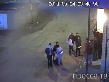 """Убийство около кафе """"Блокпост"""", поселок Юрья, г. Киров"""