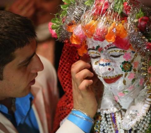 Традиционная свадебная церемония на юго-западе Болгарии (17 фото)