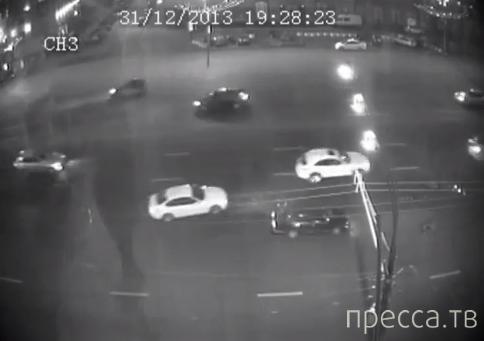Сбили пьяного пешехода... ДТП на Садовом кольце, г. Москва