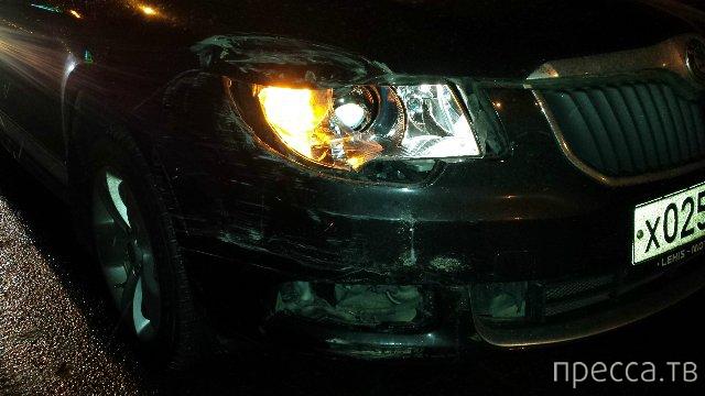 "Джигит на ""BMW X6""... ДТП на Краснопресненской набережной, г. Москва"